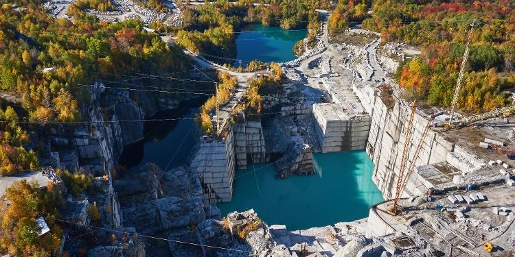 Rock of Ages Granite Quarry Tours Barre VT Day trip Foliage-1