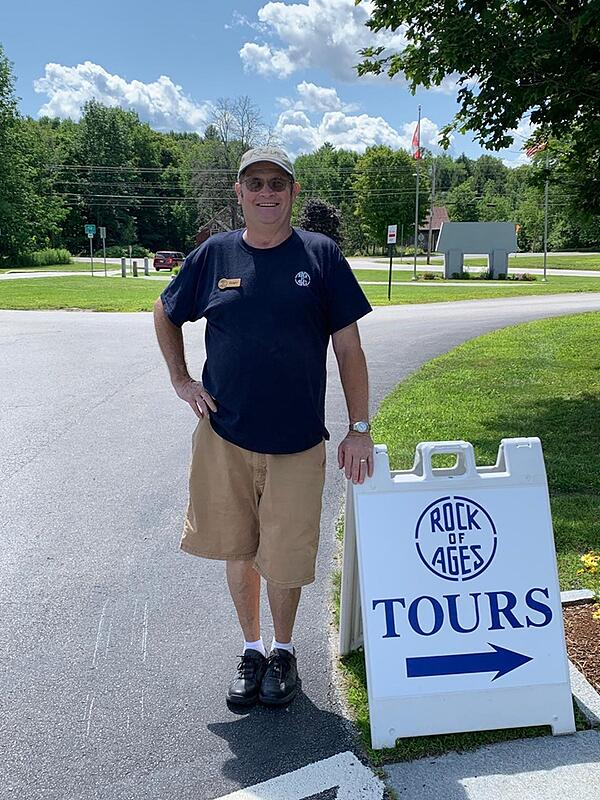 Roger Larrabee Rock of Ages Quarry Tour Guide