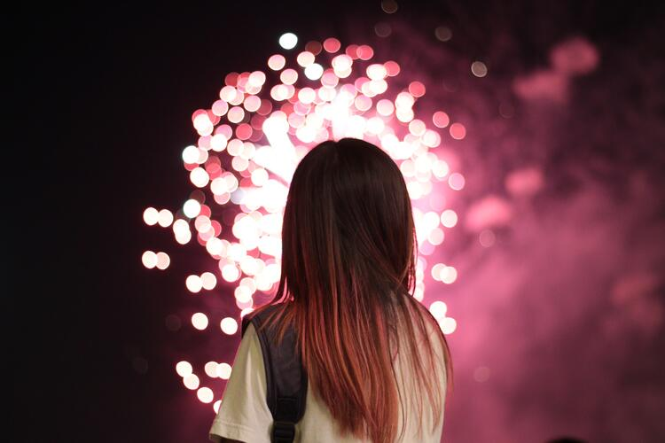 cremation memorial ideas fireworks