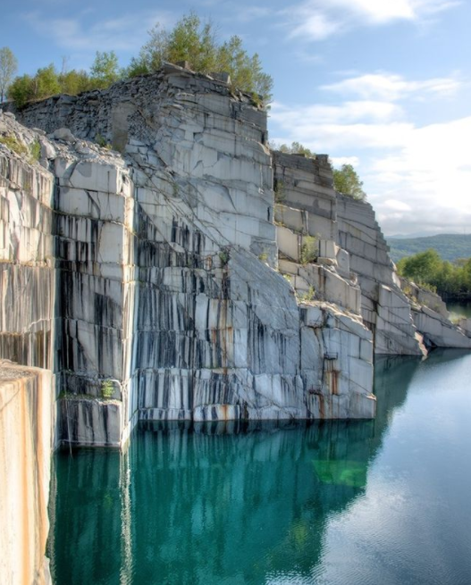 The Smith Quarry, located in Graniteville, Vermont
