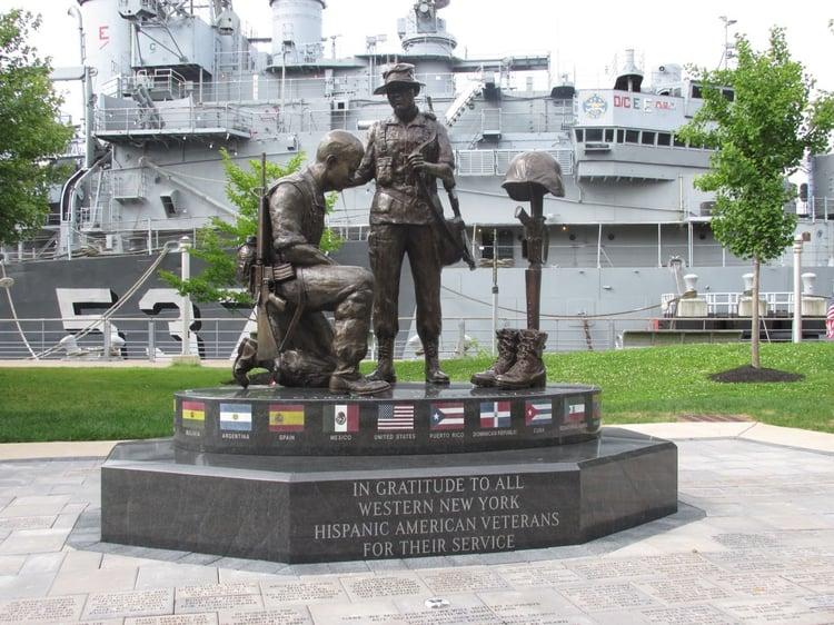 Civic memorial landmark honors local veterans for generations to come