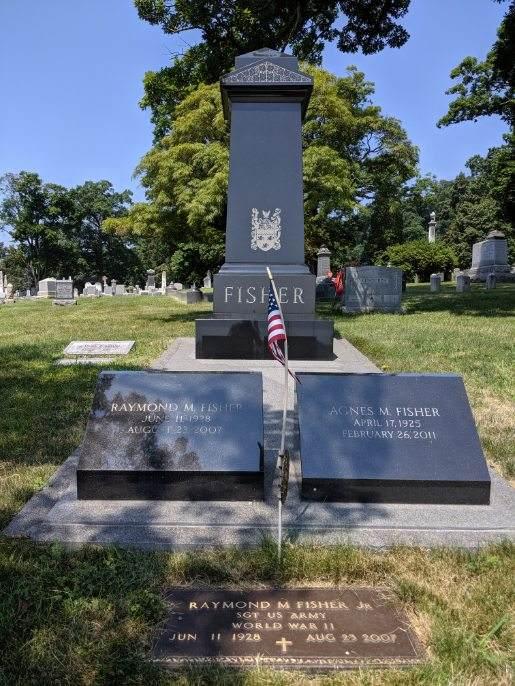 Travis Monuments Starlight Black granite memorial