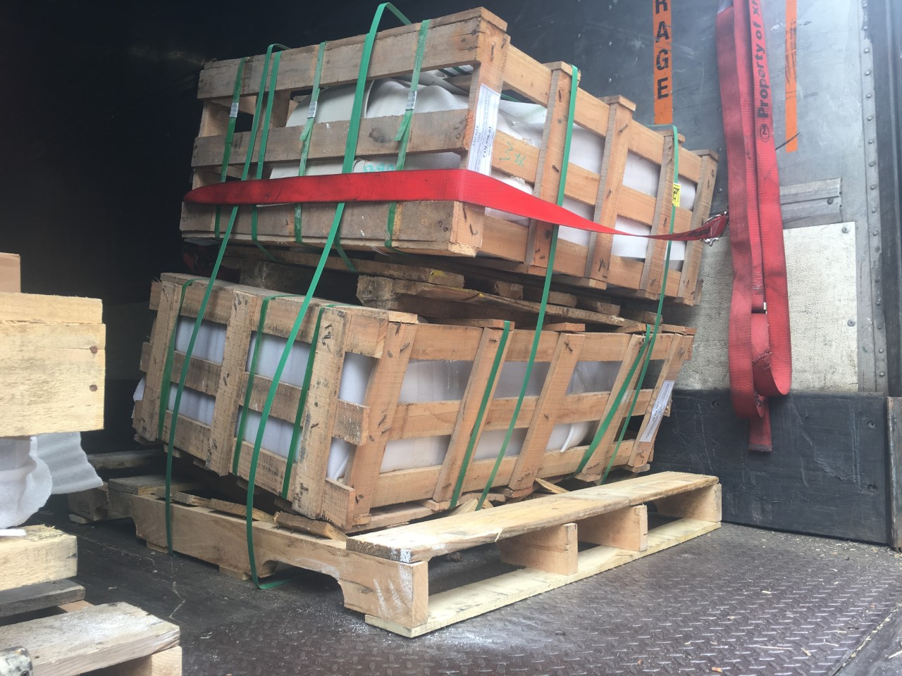 imported memorials stacked on pallettes (1)