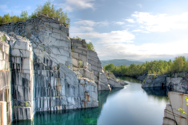 Rock of Ages granite quarry Barre Vermont-1